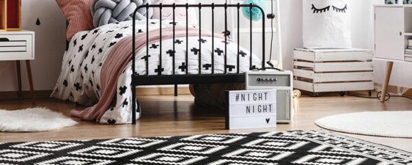 Choisir un tapis scandinave pour la décoration.